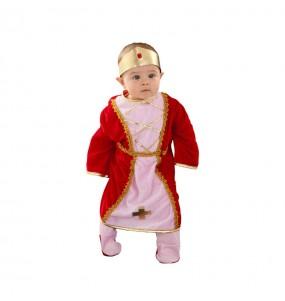 Déguisement Reine Médiévale pour bébé