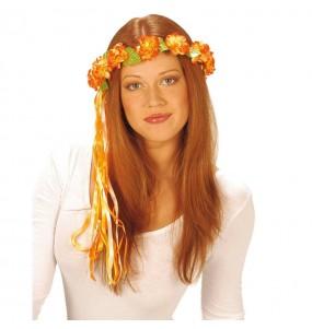 Diadème Fleurs Hippie Type E