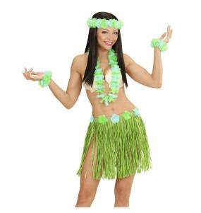 Set Hawaïen Vert