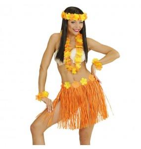 Set Hawaïen Orange