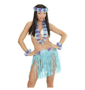Set Hawaïen Bleu