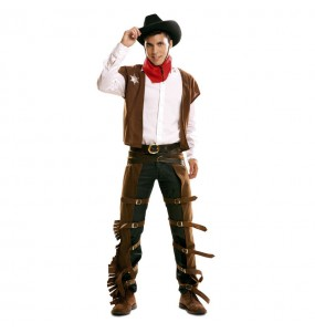 Déguisement Cowboy Marron adulte