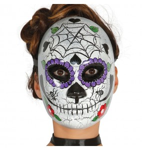 Masque Catrina Squelette Mexicain