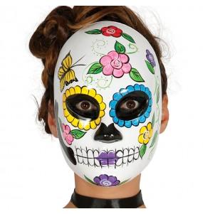 Masque Catrina Squelette Día de los Muertos