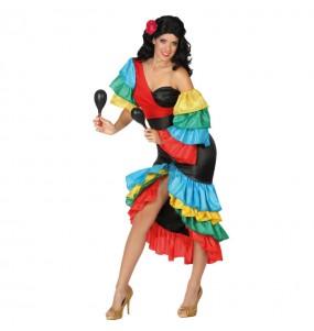 Déguisement Danseuse Rumba Tropicale adulte