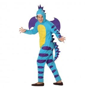 Déguisement Dragon Bleu