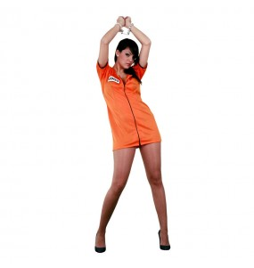 Déguisement Prisonnière orange