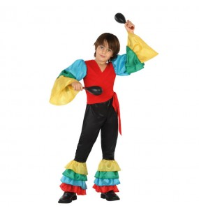 Déguisement Danseur Rumba Tropical enfant
