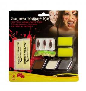 Kit Maquillaje Zombie Halloween