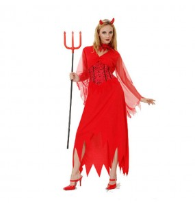 Déguisement Diablesse Halloween femme