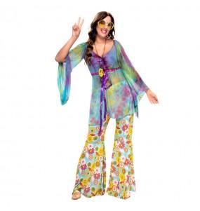 Déguisement Hippie Peace and Love femme