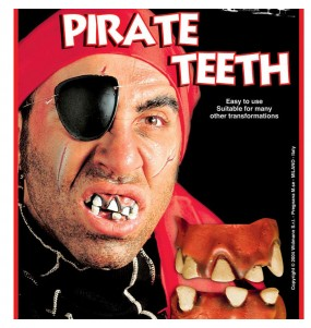 Dentier Pirate Boucanier