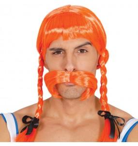 Perruque et moustache Obélix