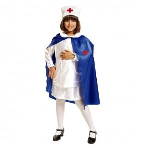 Déguisement Infirmière avec Cape pour fille