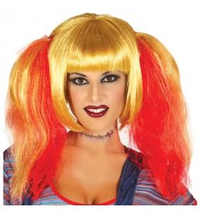 Perruque Fiancée Chucky