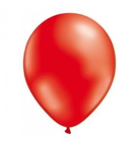 50 Ballons Métalliques - Rouge