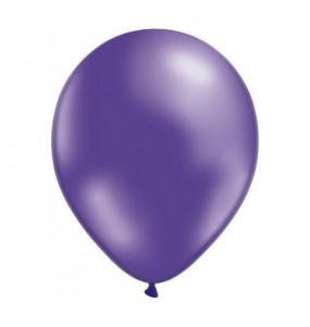 50 Ballons Métalliques - Violet