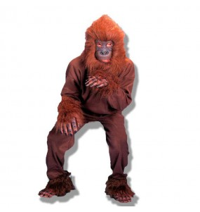 Déguisement Gorille marron