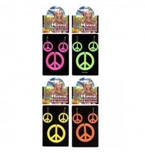 Collier et Boucles d' oreilles pour Hippie
