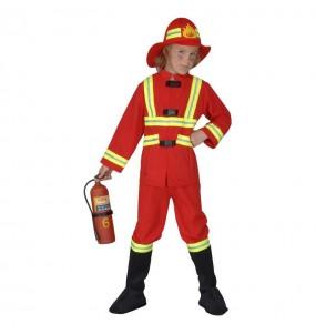 Déguisement Pompier Deluxe