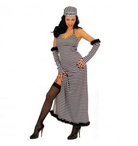 Déguisement Prisonnière robe longue