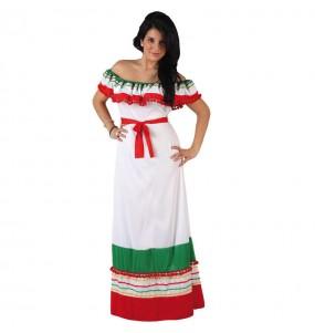 Déguisement Méxicaine Multicolore femme