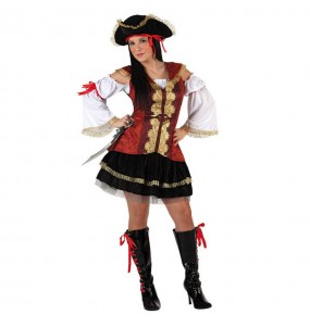Déguisement Pirate Deluxe femme