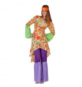 Déguisement Hippie Psychédélique femme