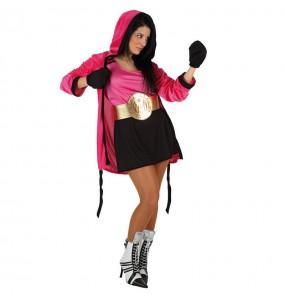 Déguisement Boxeuse pour femme