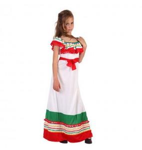 Déguisement Méxicaine Multicolore fille