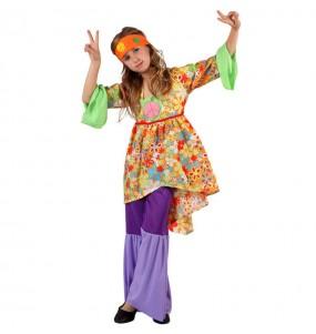 Déguisement Hippie Psychédélique fille