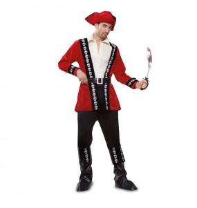 Déguisement Pirate Tête de Mort pour homme
