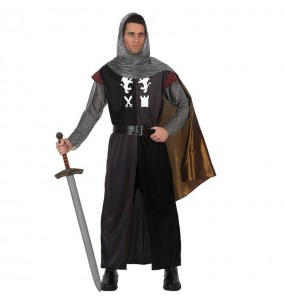 Déguisement Chevalier Médiéval avec cape