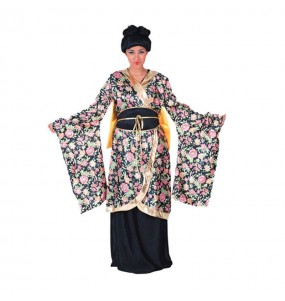 Déguisement Geisha à fleurs pour femme