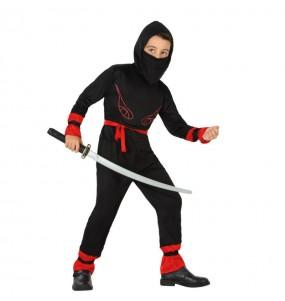 Déguisement Guerrier Ninja Rouge