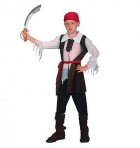 Déguisement Pirate Boucanier pour garçon