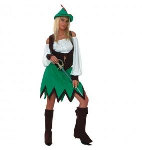 Déguisement Femme des Bois Robin Hood