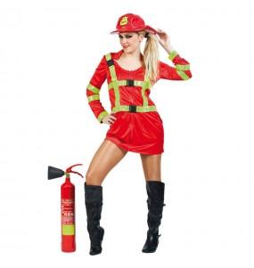 Déguisement Pompière