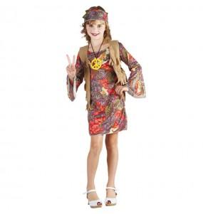 Déguisement Hippie Woodstock fille