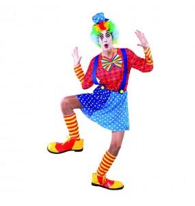 Déguisement Clown Bleu