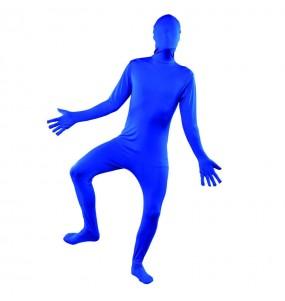 Déguisement Seconde Peau - Bleu