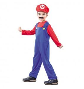 Déguisement Plombier Mario petit garçon