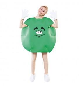 Déguisement Bonbon Vert Adulte