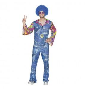 Déguisement Hippie Jeans Homme