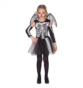 Déguisement Squelette avec Ailes Enfant