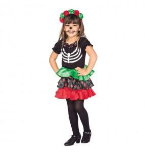 Déguisement Petite Squelette Catrina