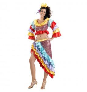 Déguisement Danseuse de Rumba pour femme