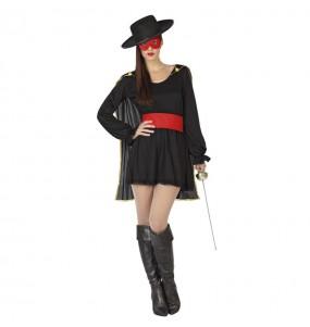 Déguisement Zorro Le Bandit Femme