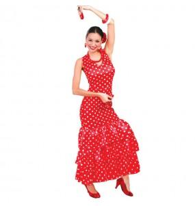 Déguisement Flamenco Pois Rouges