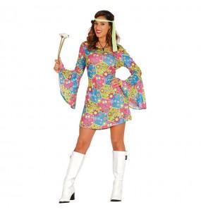 Déguisement Hippie Fleurs pour femme